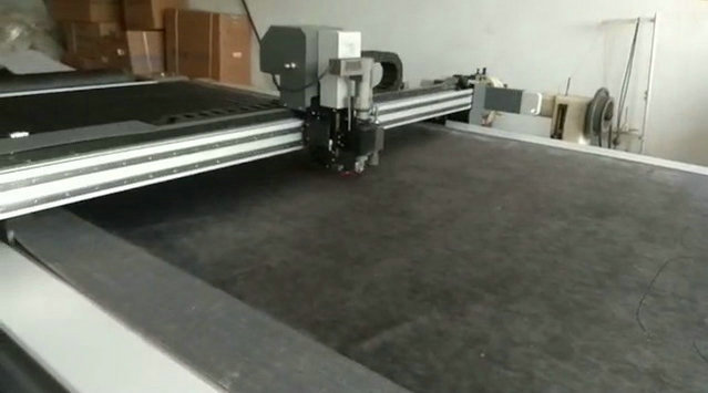 Sofa Fabric Round Knife High Speed Cutting