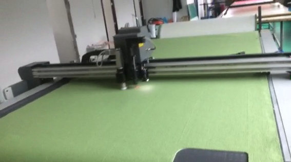 High-speed precision cutting of carpet